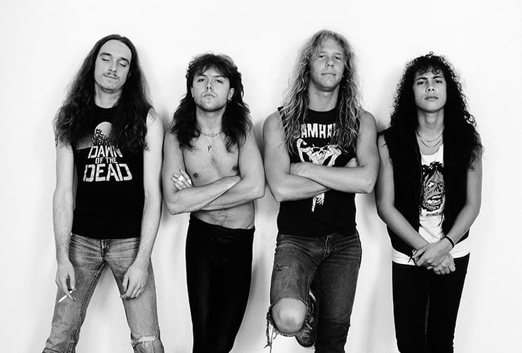 Metallica 1986 Weiss