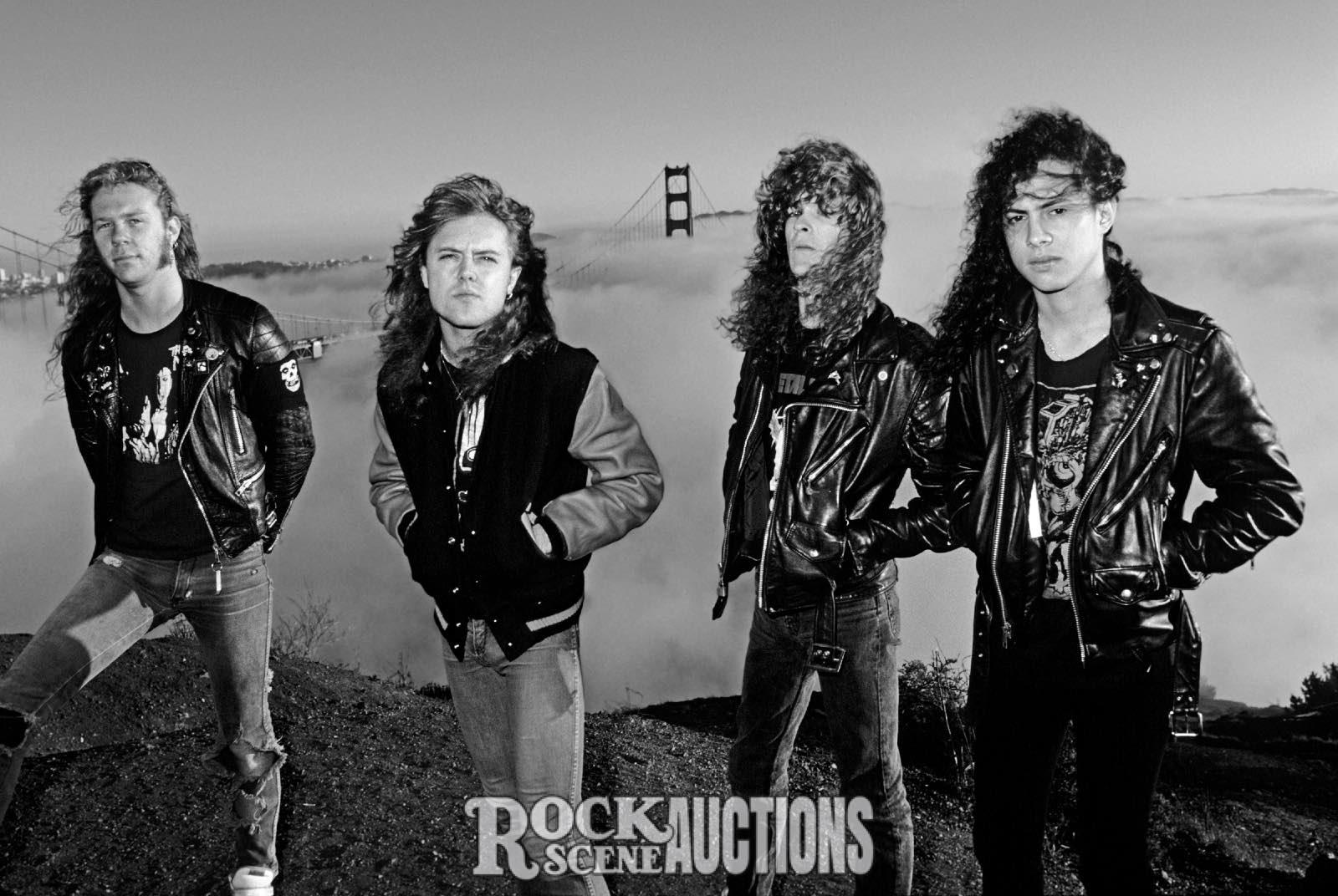 198 Weiss Metallica 1986