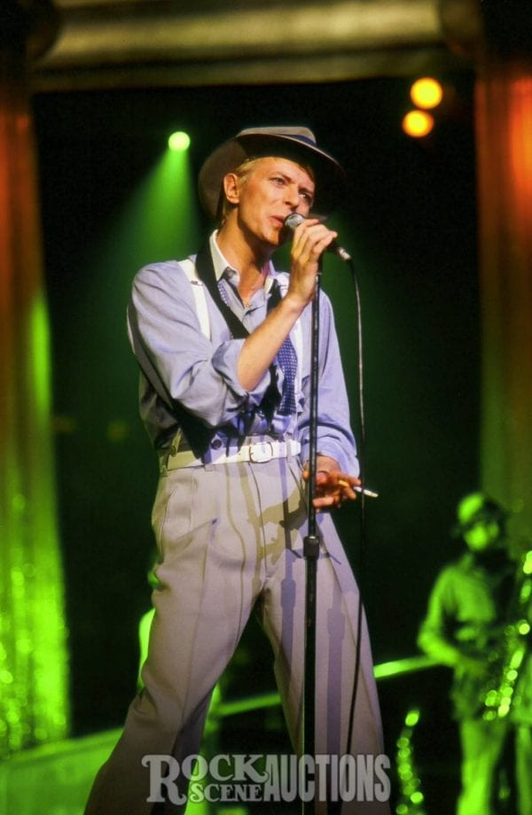 Rsa 267 Alford David Bowie 1983