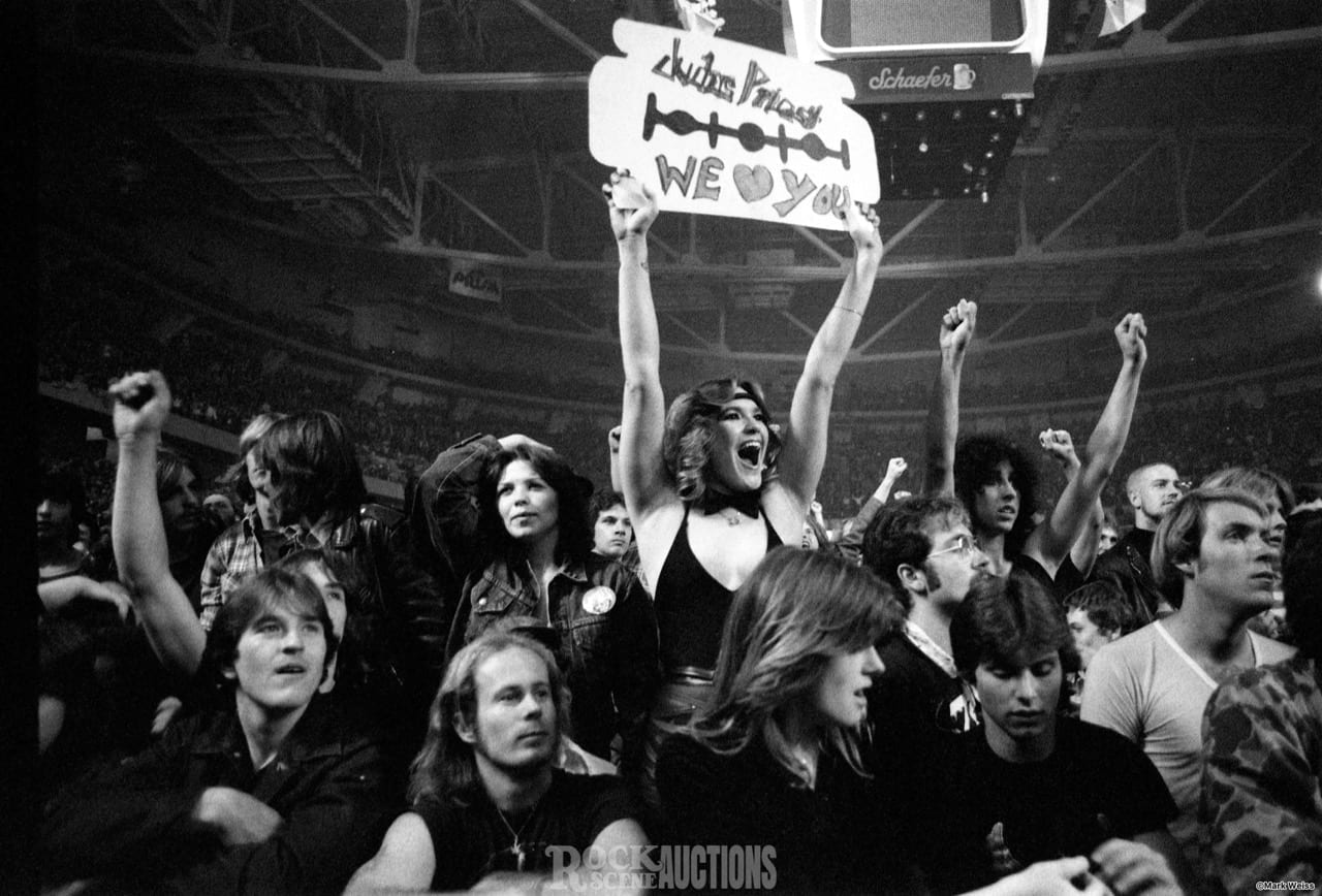 Judas Priest - Fans - 1982 - Rock Scene Auctions